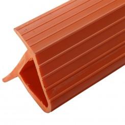SF Fenderlister Vinkel 4,6m - orange/hvid
